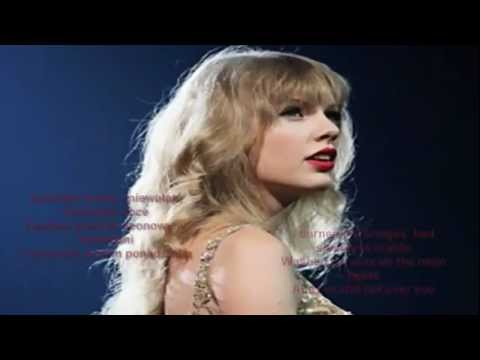 Taylor Swift - Long time coming lyrics