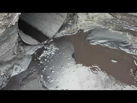 Река Веснянка в Караганде незаконно загрязняется промышленными стоками!