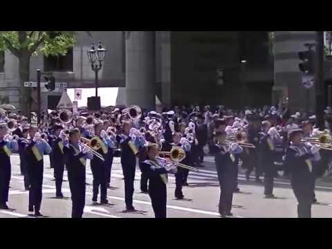 ザ・ティンクルキッズ/横浜市立平安小学校マーチングバンド(第62回ザよこはまパレード:キッズパレード)