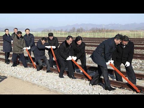 Το τρένο που θα ενώσει τη Βόρεια με τη Νότια Κορέα