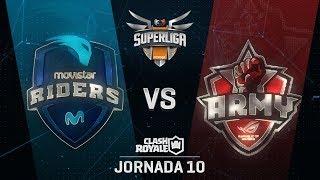 SUPERLIGA ORANGE - MOVISTAR RIDERS VS ASUS ROG ARMY - Jornada 10 - #SuperligaOrangeCR10