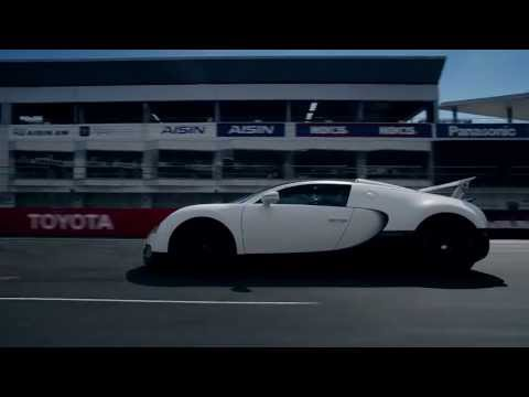 0 Beast in the East: A Bugatti Veyron Grand Sport Tackles Fuji Speedway [Video]