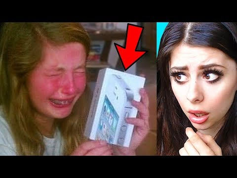 SPOILED KIDS Reacting to EXPENSIVE CHRISTMAS GIFTS Compilation  (PART 2)