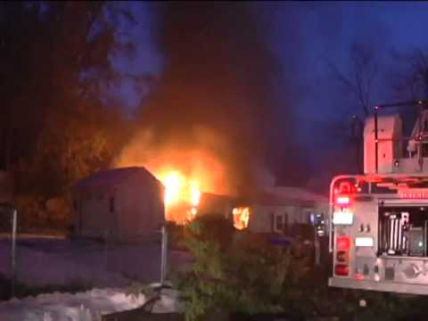 House fire in Springfield