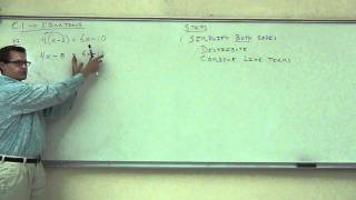 Intermediate Algebra Lecture C.1 Part 1