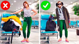 Video 33 SMART AND HANDY TRAVEL HACKS MP3, 3GP, MP4, WEBM, AVI, FLV September 2019