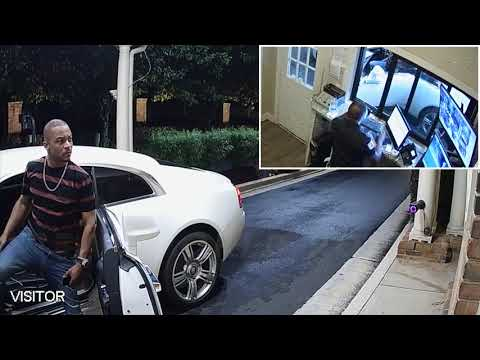 New Surveillance Footage Shows T.I. Screaming at Security Guard Prior to T.I.'s Arrest (Part I)