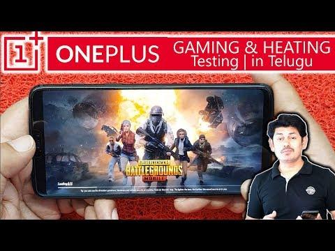 Oneplus 6 Gaming and Heating Testing | in Telugu ~Tech-Logic