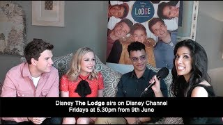 The Fan Carpet's Ellie Torrez spoke to Sophie Simnett, Luke Newton and Josh Sinclair-Evans ahead of the release of season 2 of Disney The Lodge on Disney Channel on Friday June 9th at 5.30pm.Watch the full interview with Thomas Doherty, Bethan Wright, Mia Jenkins and Jayden Revri here: https://youtu.be/vy9LVeuZLLs