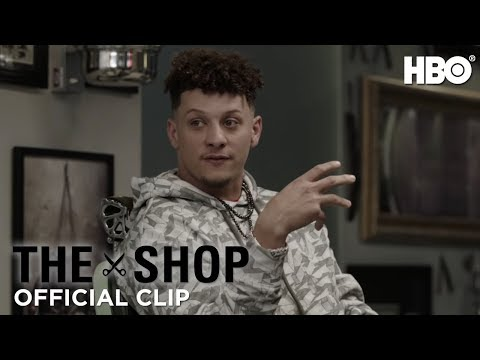 The Shop Uninterrupted  Patrick Mahomes on Taking His Game to the Next Level S3 Ep1 Clip  HBO