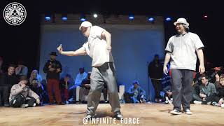 Dokyun vs Kid Boogie – INFINITE POPPING 2019 STYLES&CONCEPTS SECOND STAGE