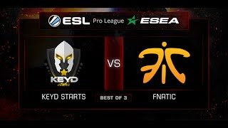 Keyd vs fnatic, game 1