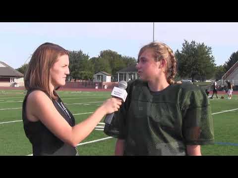 Interview with Hempfield High School football player Sierra Mowrer
