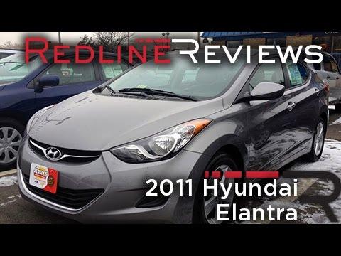 2011 Hyundai Elantra Review, Walkaround, Exhaust, Test Drive