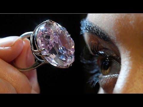 Ροζ διαμάντι: Πωλήθηκε έναντι 67 εκατομμυρίων €