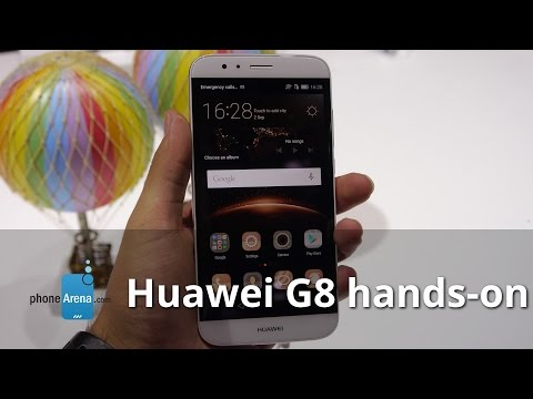 Huawei G8 hands on