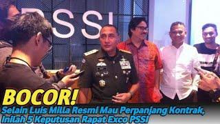 Video Selain Luis Milla Resmi Mau Perpanjang Kontrak, Inilah 5 Keputusan Rapat Exco PSSI MP3, 3GP, MP4, WEBM, AVI, FLV Oktober 2018