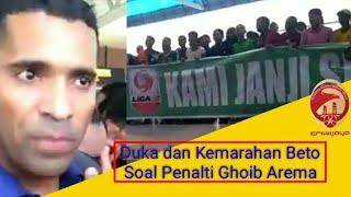Download Video Beto Jelaskan Penalti Ghoib Arema & Haru Lihat Suporter Sriwijaya FC MP3 3GP MP4