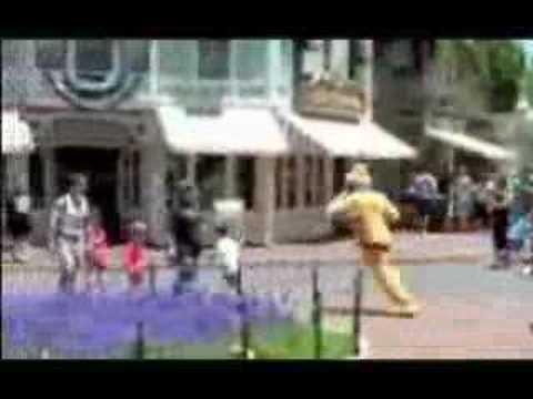 Pluto chases BRAT at Disney (HILARIOUS RECUT - BENNY HILL)