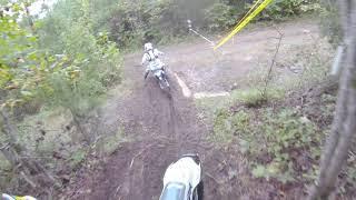 6. First ride on a Husky TE150 is a VCHSS RACE!