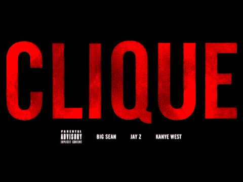Kanye West - Clique ft. Big Sean & Jay-Z (Explicit)