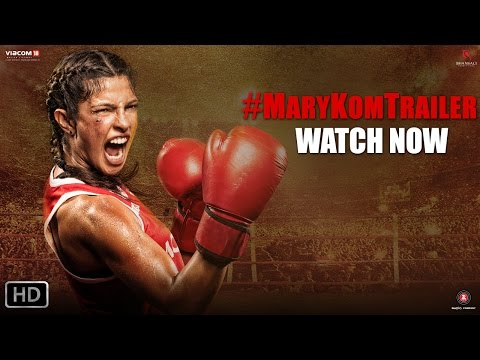 Movie trailer - Presenting you the Power Packed Official Trailer of Omung Kumar's - Mary Kom starring Priyanka Chopra in & as Mary Kom. Get Knocked Out this season by MARY KOM! In cinemas 5th September....