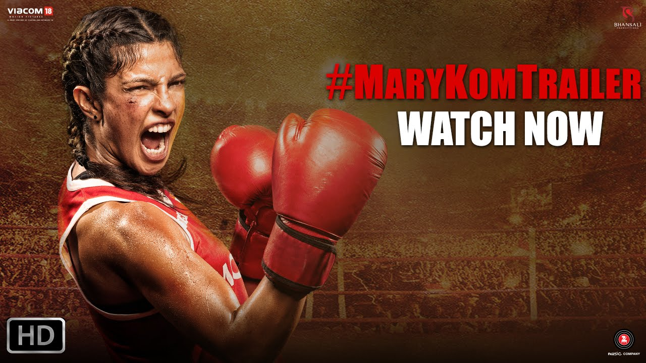 Mary Kom HD Movie Trailer By Priyanka Chopra