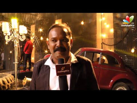 Venkat Prabhu, Dhansika and Vidharth at Vizhithiru Shooting Spot | Onlocation | Tamil Song Making