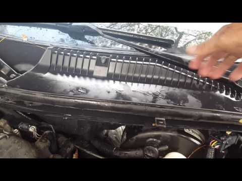 How to fix water leaking in the floor of 2003 Lincoln Town Car