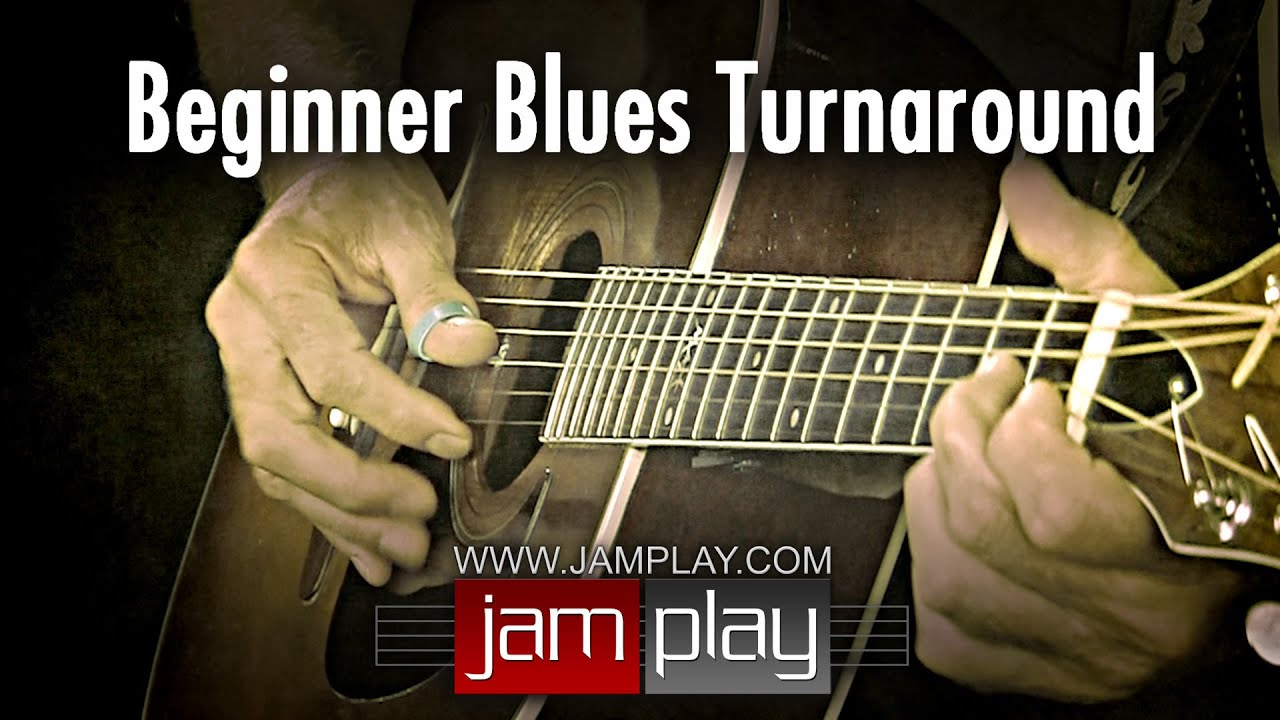Blues Guitar Lesson – Easy Beginner Blues Turnaround