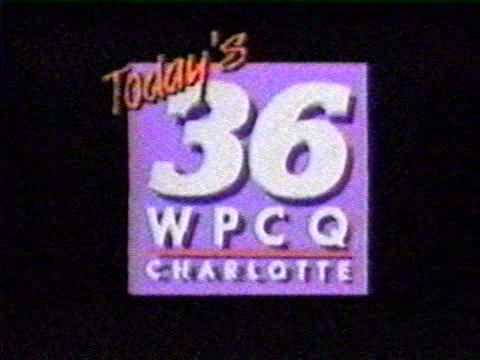 "Wpcq-tv ""today's 36"" (now Wcnc), Charlotte Nc Sign-off From May 1989"