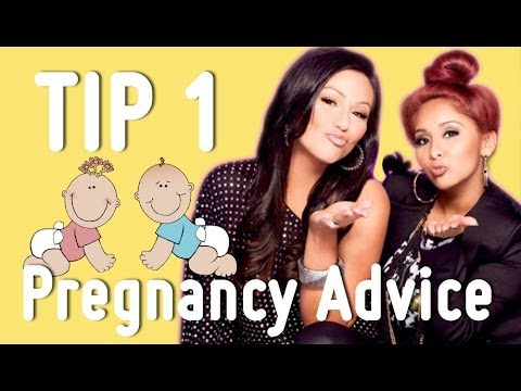 Jenni Asks Snooki for Pregnancy Advice