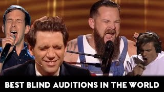 Video The Voice TOP-10 AMAZING & BEST Blind Auditions of all Times In the World (Part 1) MP3, 3GP, MP4, WEBM, AVI, FLV Maret 2019