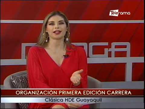 Organización primera edición carrera clásica HDE Guayaquil