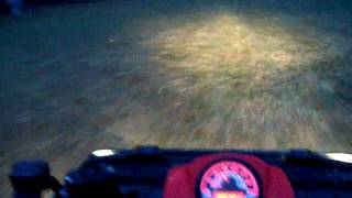 8. Quick Drive with 2009 Polairs sportsman 500 EFI Part 1