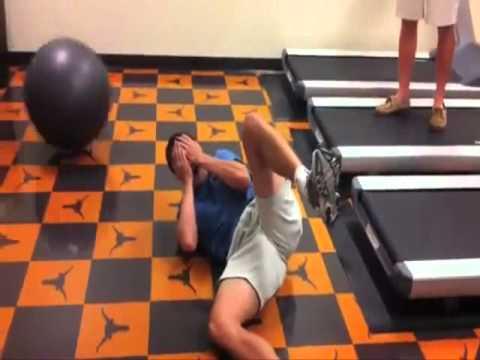 Funny Treadmill Fail / Lustiger Laufband Fail