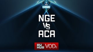NGE vs AcA, ESL One Genting Quals, game 2 [Adekvat, Inmate]