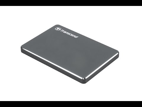 ✅Transcend 1TB StoreJet 25C3N Portable External USB 3.0 HDD Review