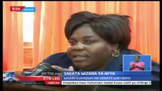 KTN Leo: Sakata ya ufisadi katika Wizara ya Afya, Octoba 27 2016