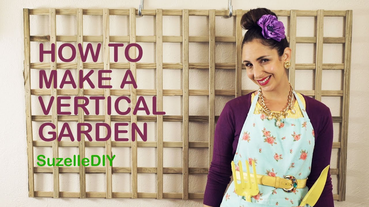How to Make a Vertical Garden-graphic