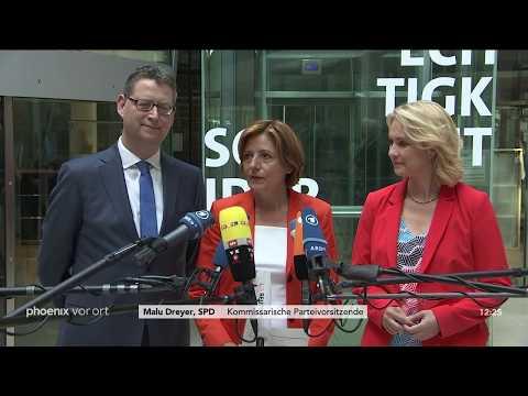 Statement der SPD-Spitze nach dem Koalitionsausschuss mit CDU/CSU am 17.06.2019