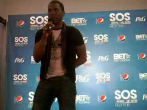 Jason Derulo at S.O.S Saving Ourselves Help For Haiti
