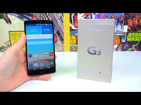 Verizon - We've unboxed and had a look at the Korean and unlocked international versions of the G3, now it's time for Beau to show you the Verizon model, and there are a few differences. Check out...