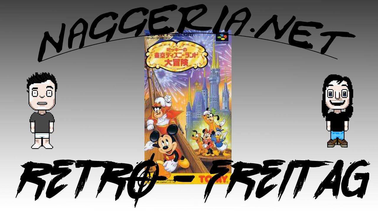 [Retro-Freitag] Mickey no Tokyo Disneyland Daibōken (Super Nintendo)