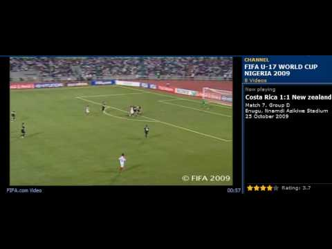 Nueva Zelanda vs Costa Rica, Mundial Sub-17