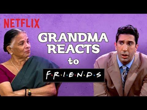 Indian Grandma watches F.R.I.E.N.D.S | Netflix