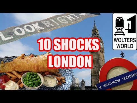 Things That Will Shock You About London