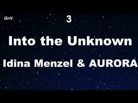 Karaoke♬ Into the Unknown ( Frozen2 ) - Idina Menzel & AURORA 【No Guide Melody】 Instrumental