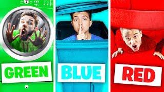 Video Using only ONE Color in IRL PROP HUNT! - Challenge MP3, 3GP, MP4, WEBM, AVI, FLV September 2019