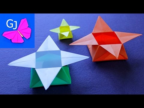 Как сделать коробочку звезда - Danetti.Ru